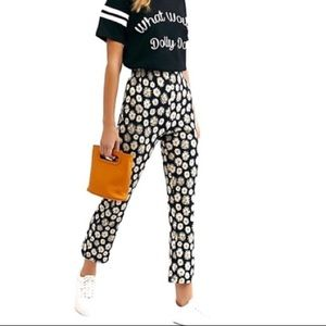 Free People Clean Cropped Flare Pants - Daisy